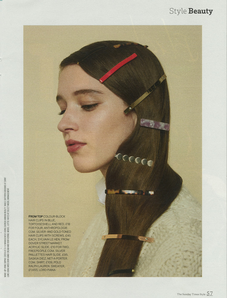 Sunday Times Style - Lottie Hayes
