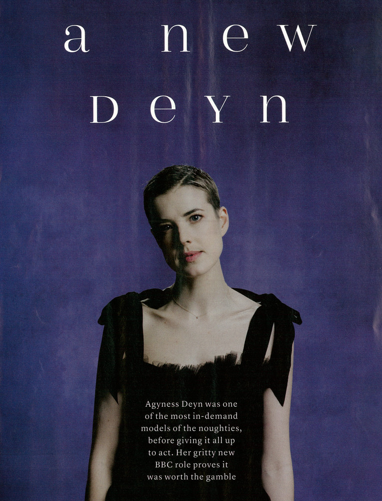 Marie Claire UK - Agyness Deyn