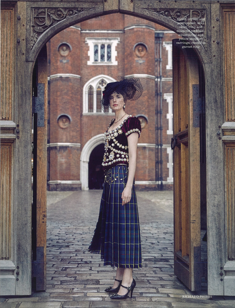 Town and Country - Agyness Deyn