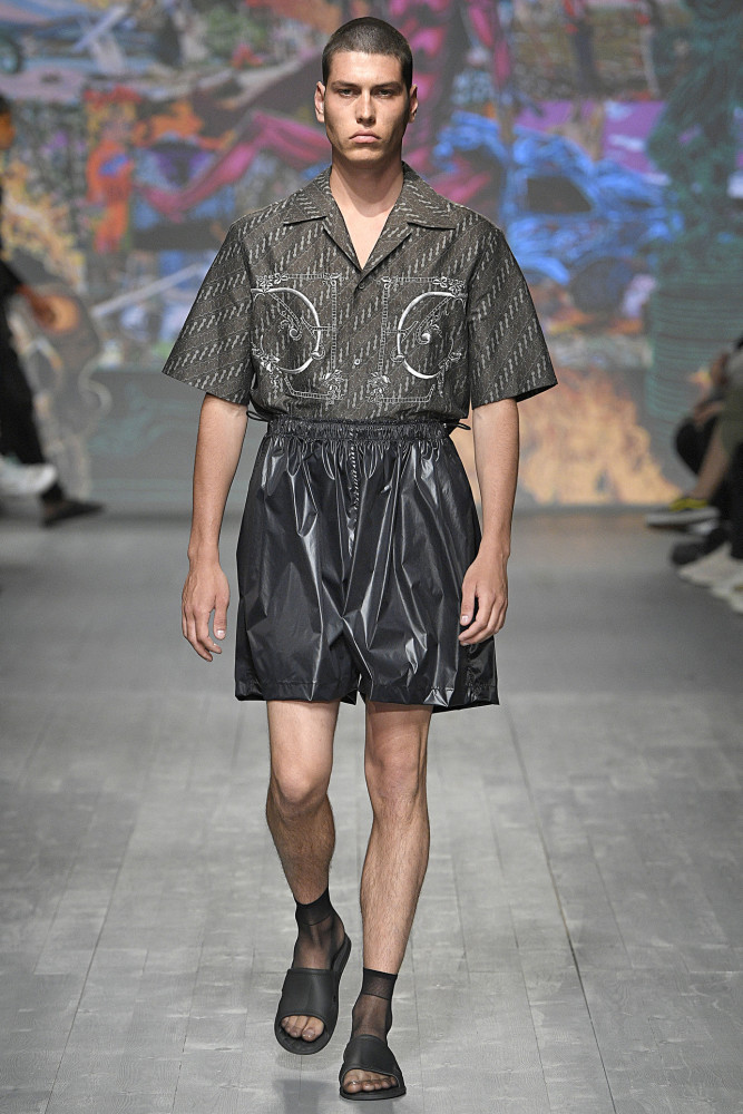 Brieuc for EDWARD CRUTCHLEY Spring Summer 2019