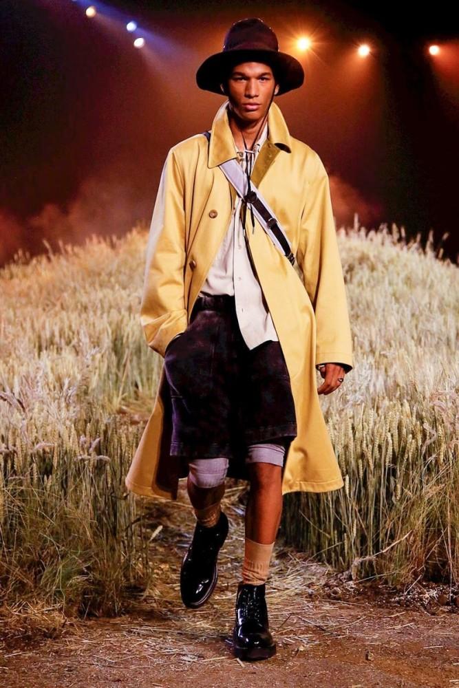 Hamady for AMI ALEXANDRE MATTIUSSI Menswear Spring Summer 2019