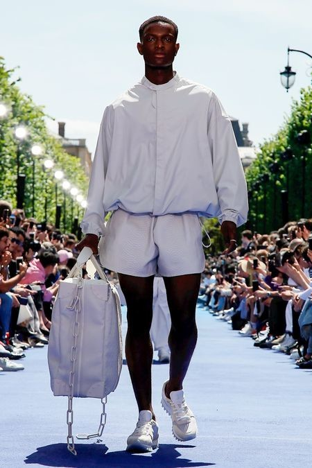 Moriaby for LOUIS VUITTON Menswear Spring Summer 2019