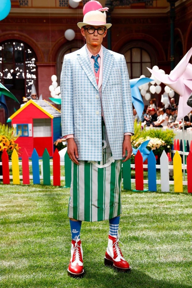 Mikhail for THOM BROWNE Menswear Spring Summer 2019