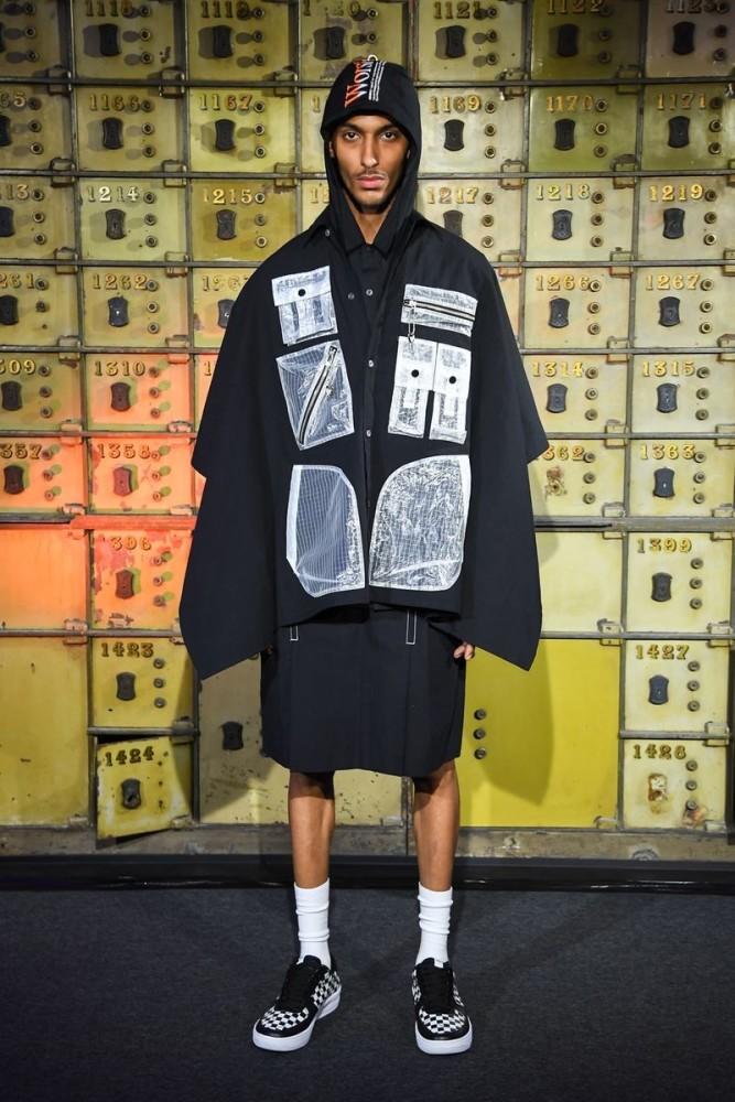 Aimen for YOSHIO KUBO Menswear Spring Summer 2019