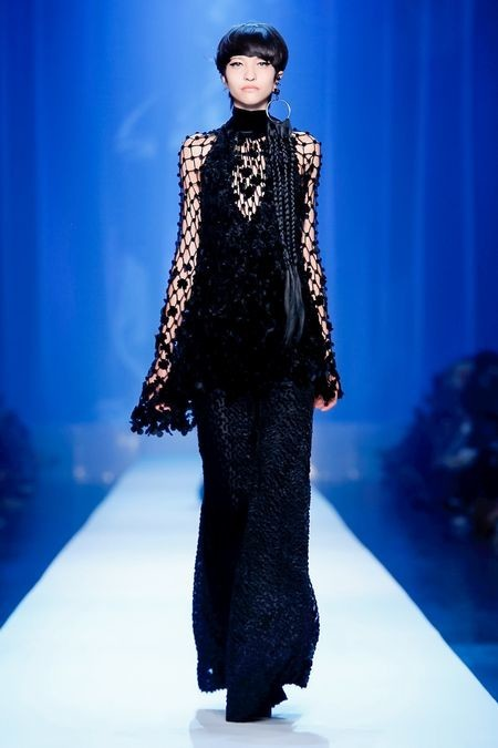 America for JEAN PAUL GAULTIER Couture Fall Winter 2018