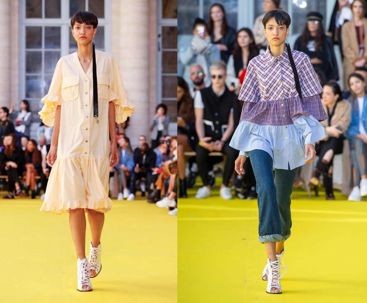 America for VICTORIA TOMAS Ready To Wear Spring Summer 2019