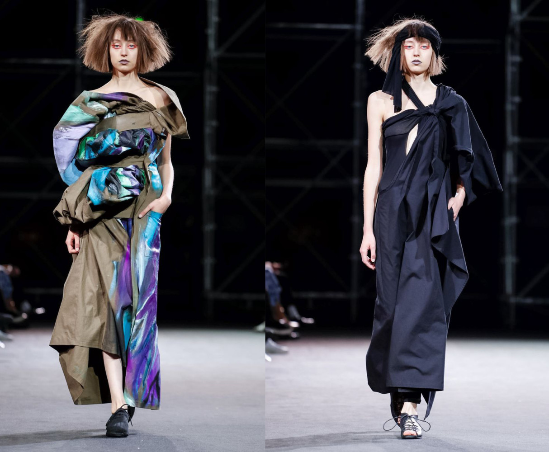 Delphine for YOHJI YAMAMOTO Ready To Wear Spring Summer 2019