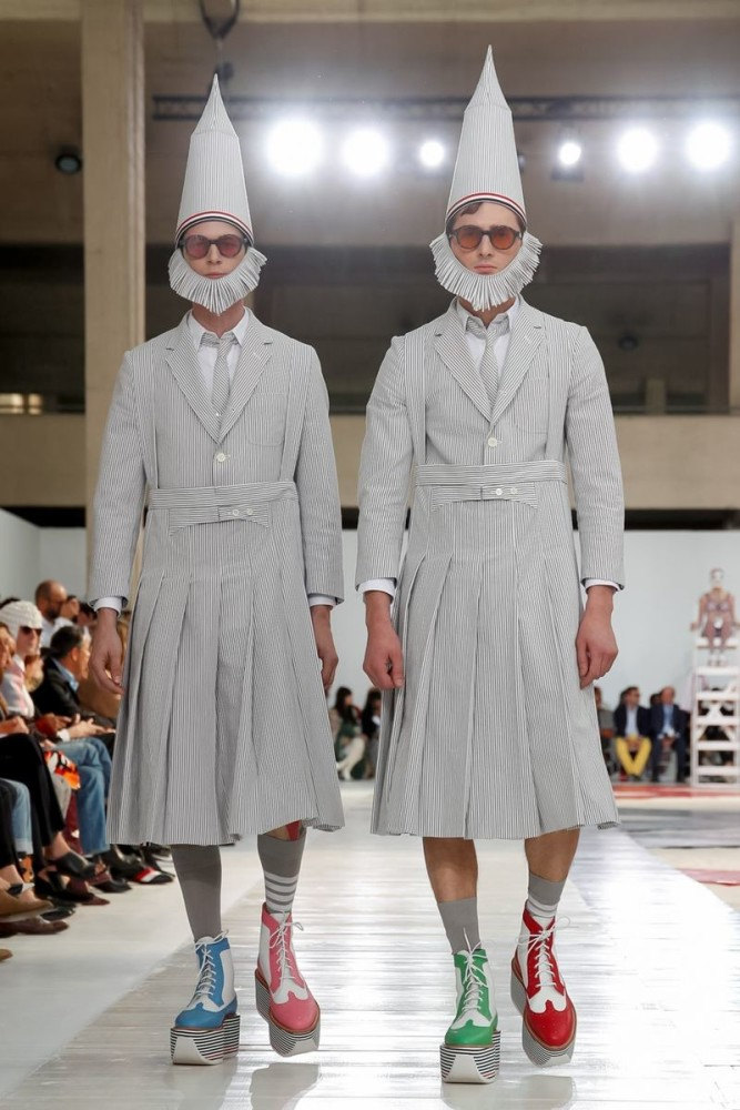 Jimmy for THOM BROWNE Ready To Wear Spring Summer 2019