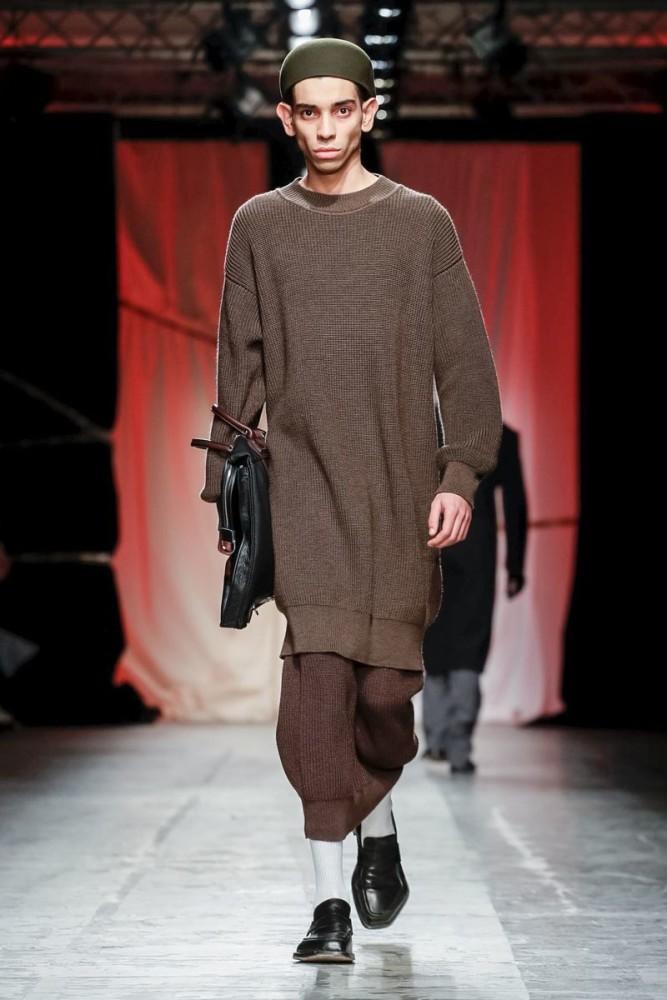 Amine for MAGLIANO Menswear Fall Winter 2019