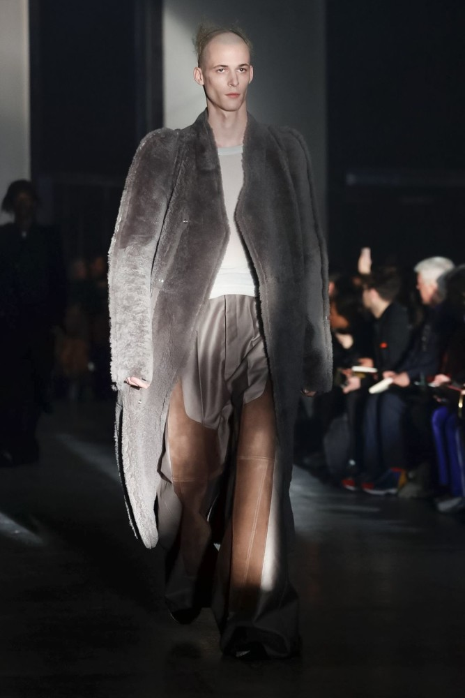 Jimmy for RICK OWENS Menswear Fall Winter 2019