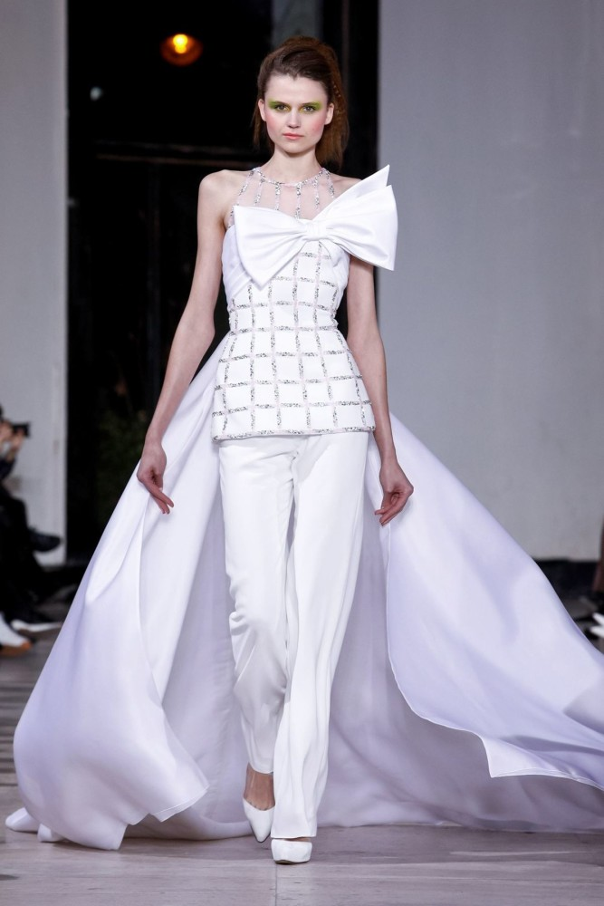 Alena for GEORGES CHAKRA Couture Spring Summer 2019