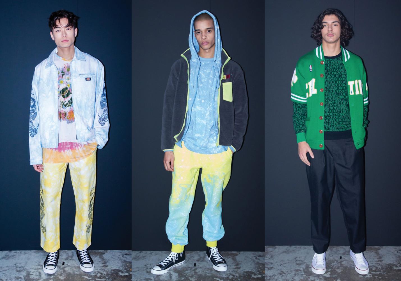Nicolas, Terence & Damien for CLOT Menswear Fall Winter 2019