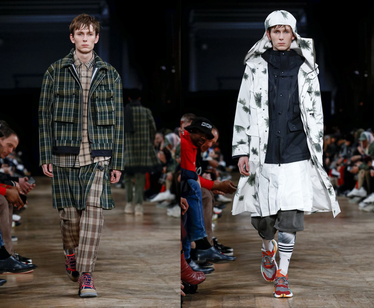 Mikhail for WHITE MOUNTAINEERING Menswear Fall Winter 2019