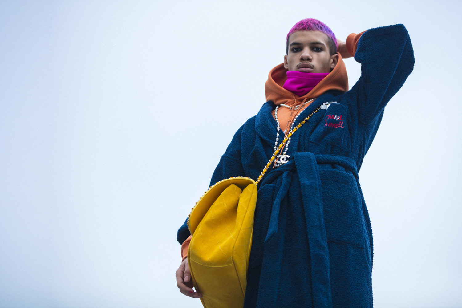 Lilian for the #CHANELPharrell collection