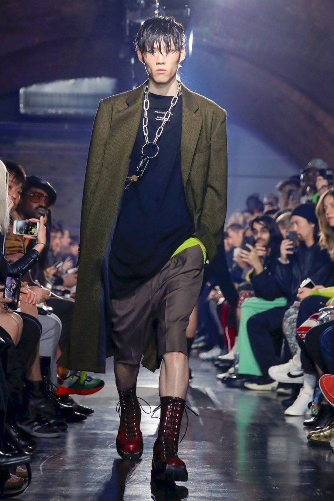 Woo for JOHN LAWRENCE SULLIVAN Menswear 2020 (London)