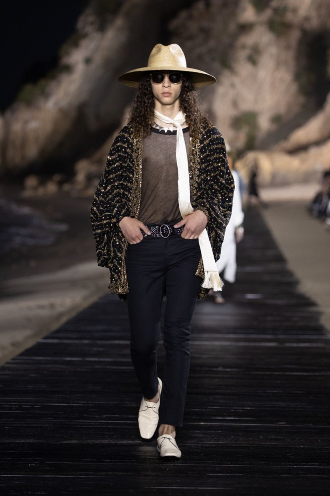 Rayan for SAINT LAURENT Menswear Spring Summer 2020 (Los Angeles)