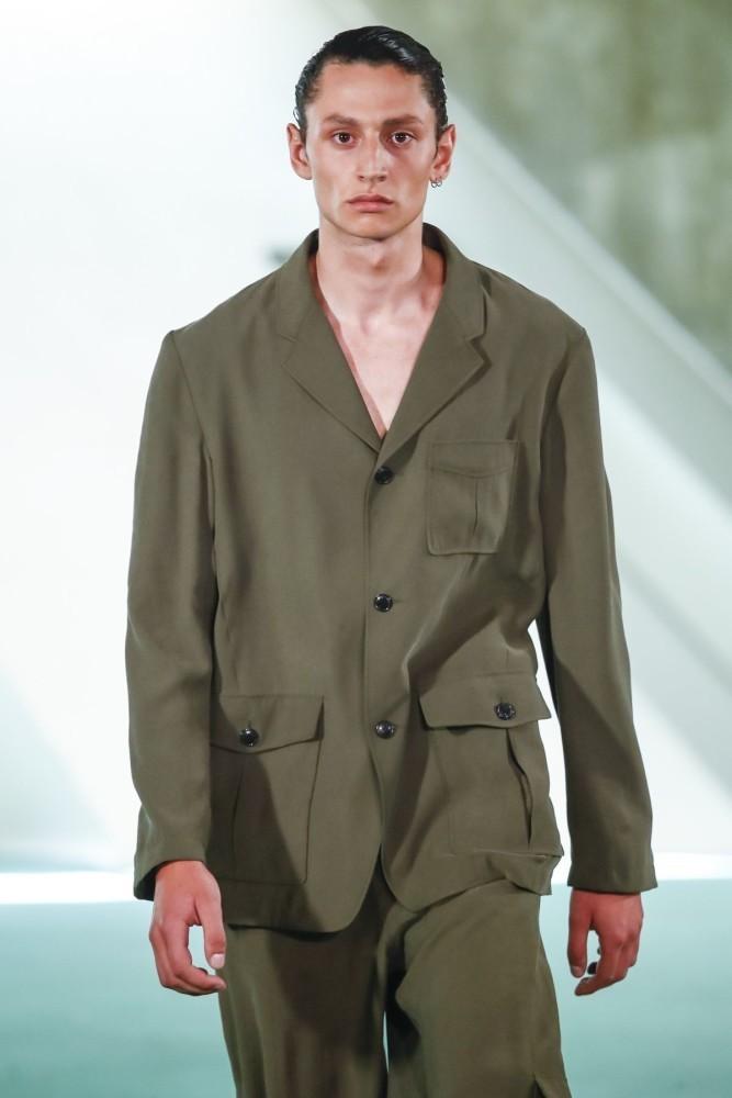 Nathan for LOUIS GABRIEL NOUCHI Menswear Spring Summer 2020