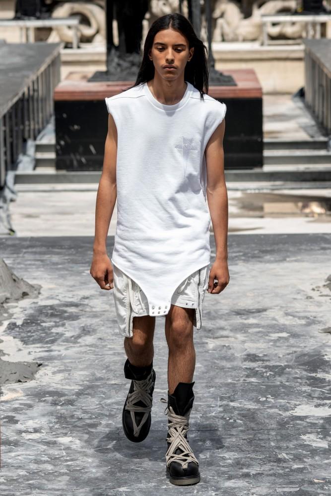 Ramzi for RICK OWENS Menswear Spring Summer 2020