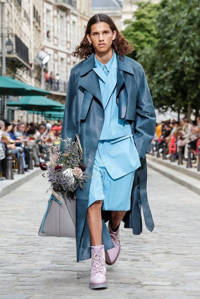 Chahine for LOUIS VUITTON Menswear Spring Summer 2020