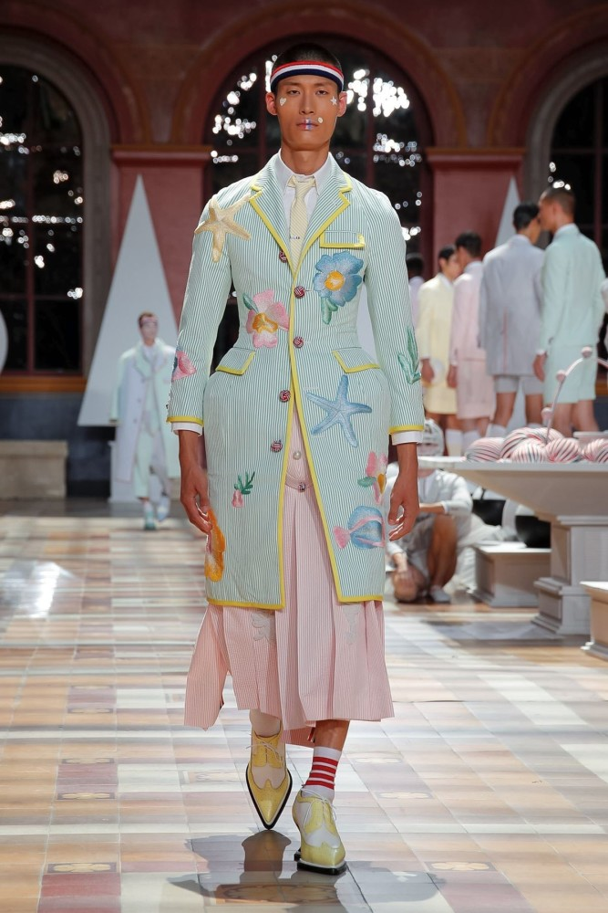 Jay for THOM BROWNE Menswear Spring Summer 2020