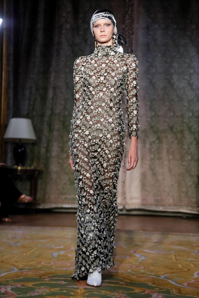 Anastasia for YOLANCRIS Couture Fall Winter 2019