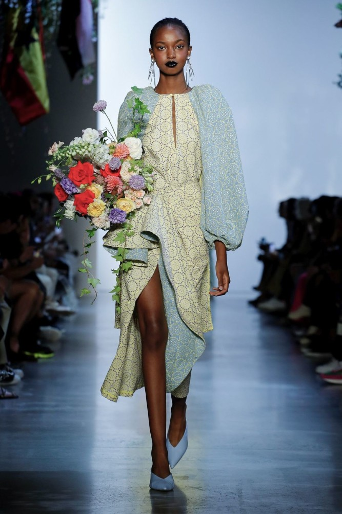 Sana for PRABAL GURUNG Ready To Wear Spring Summer 2020 New York