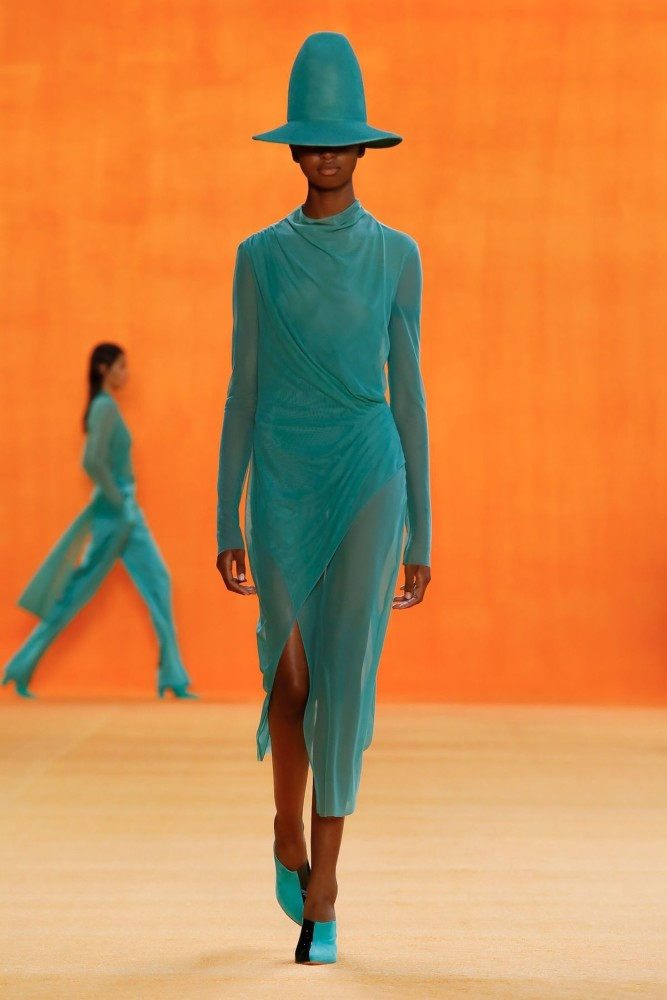 Sana for SALLY LAPOINTE Ready To Wear Spring Summer 2020 New York