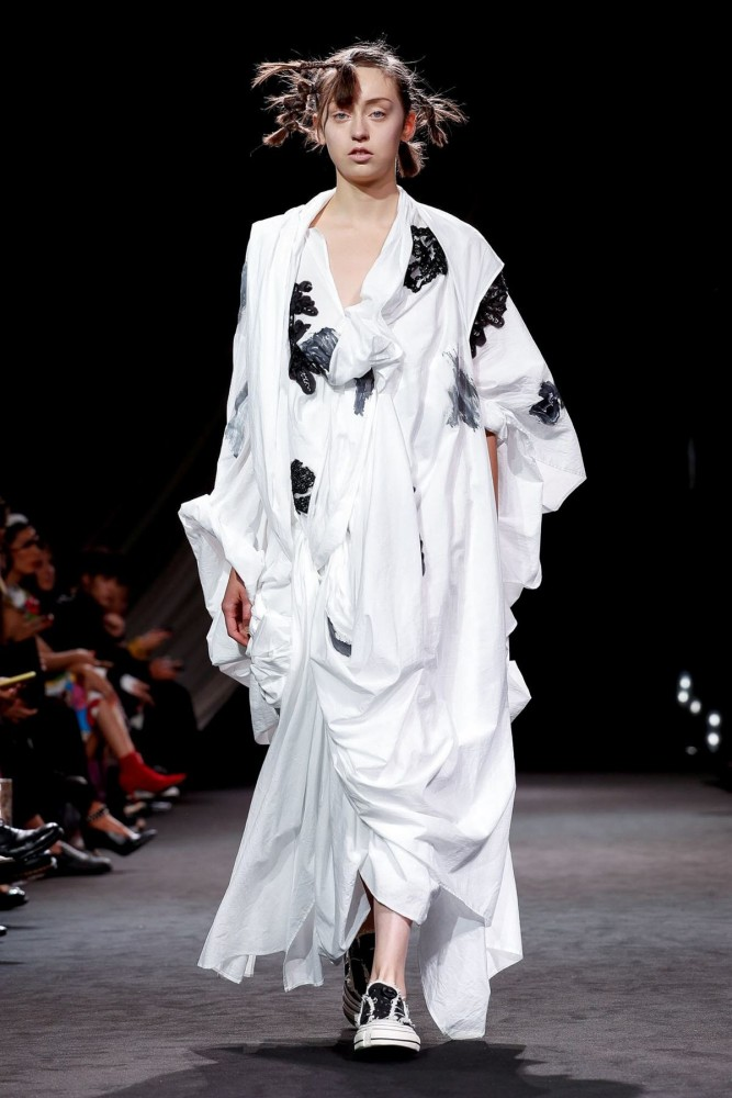Delphine for YOHJI YAMAMOTO Spring Summer 2020