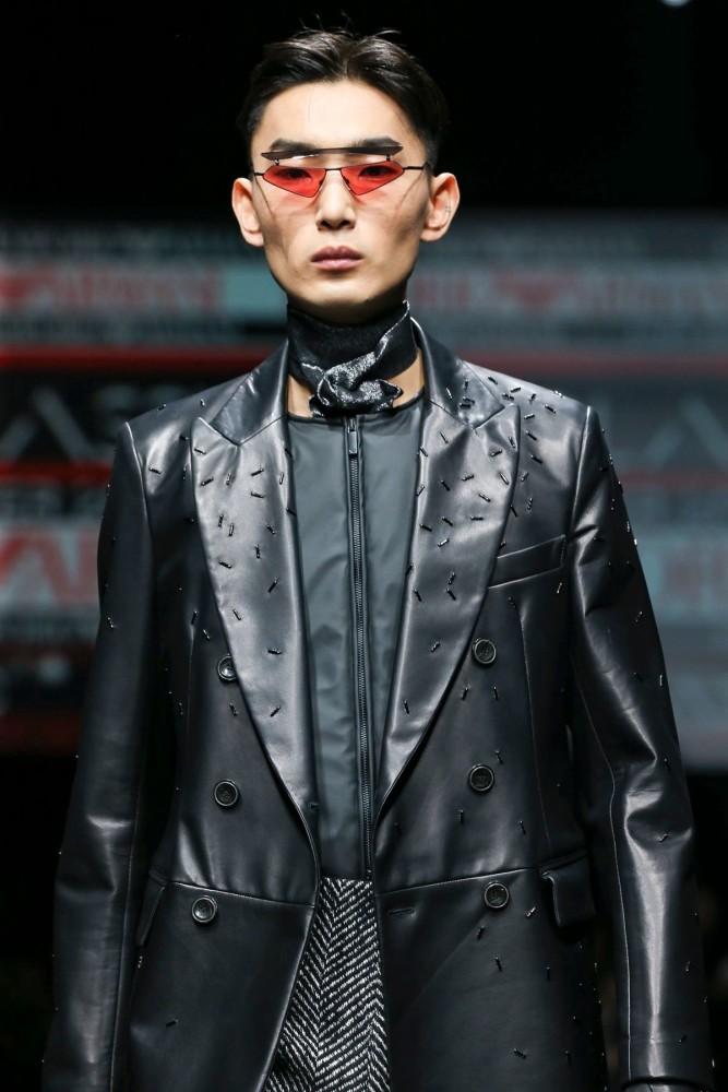 Yeom for EMPORIO ARMANI Menswear Fall Winter 2020 Milan