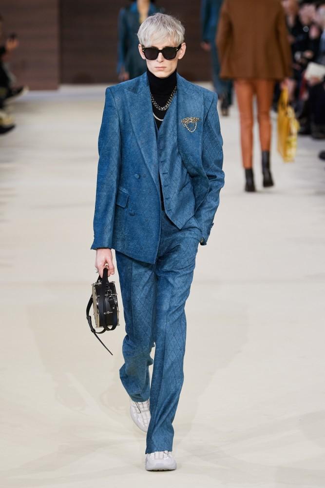 Mikhail for AMIRI Menswear Fall Winter 2020