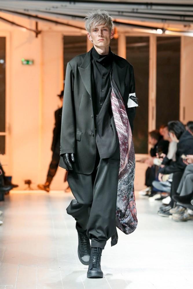 Mikhail for YOHJI YAMAMOTO Fall Winter 2020