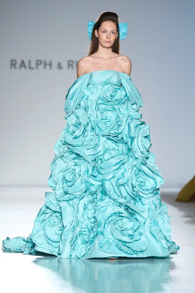 Diana for RALPH & RUSSO Couture Spring Summer 2020