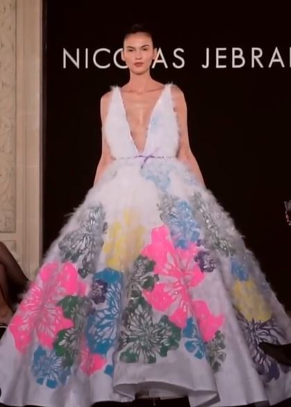 Patricia for NICOLAS JEBRAN Spring Summer 2020