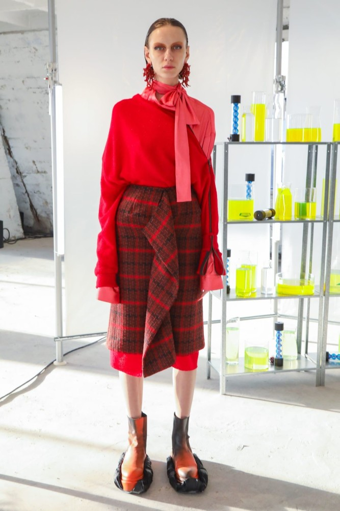Sofie for FROM ANOTHER PLANETS presented by FFF HKFG Fall Winter 2020