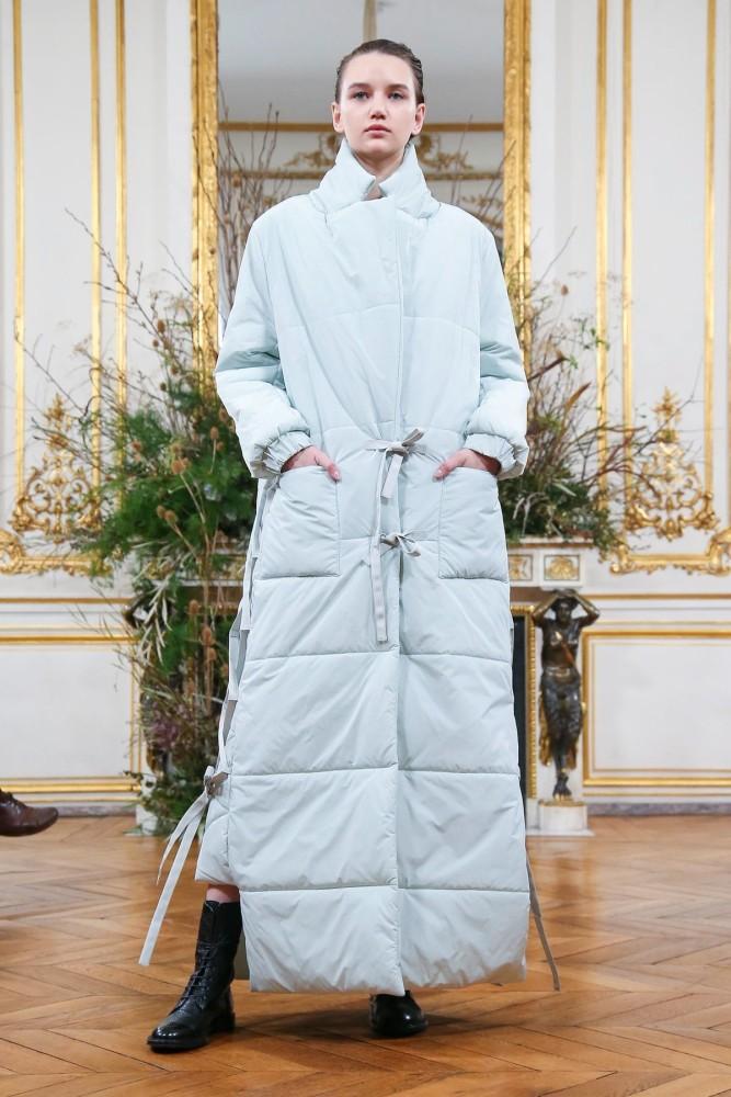 Liza for VALENTIN YUDASHKIN Fall Winter 2020