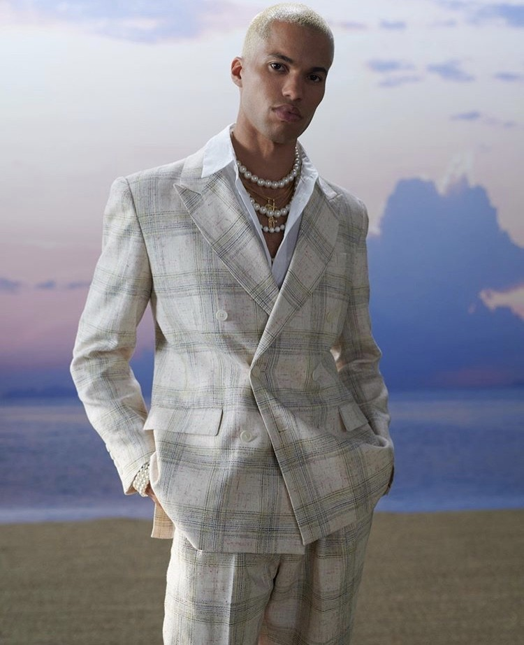 Yann for CASABLANCA Spring Summer 21 Collection's Campaign