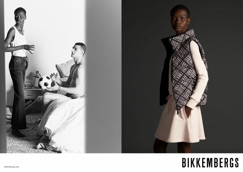 Marie for BIKKEMBERGS FALL/WINTER 2021 ADVERTISING CAMPAIGN