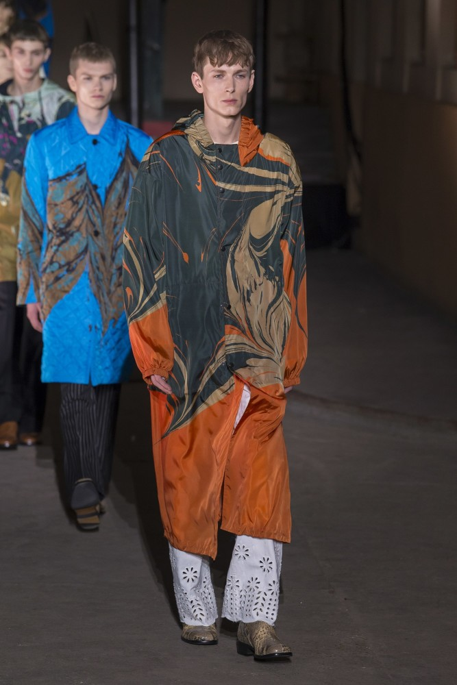 Mikhaïl for DRIES VAN NOTEN Men's Ready To Wear Fall 2018