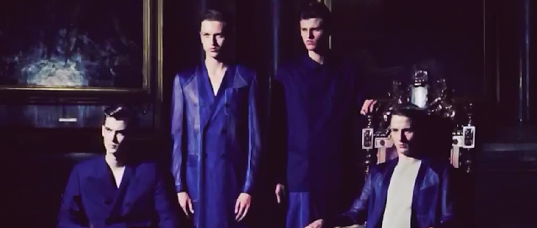 DIOR HOMME SPRING / SUMMER 2013 FOR HERO MAGAZINE EXCLUSIVE VIDEO PREVIEW