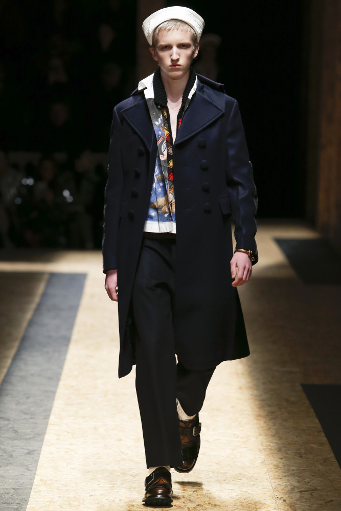 Johan Kroon for Prada FW 16/17