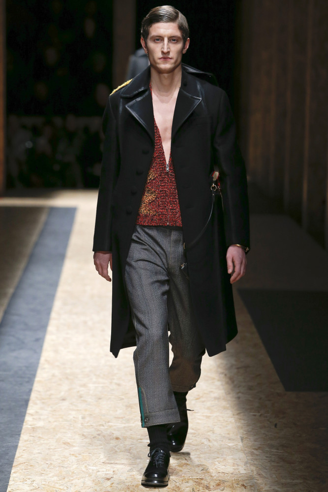 Chris Beek for Prada FW 16/17