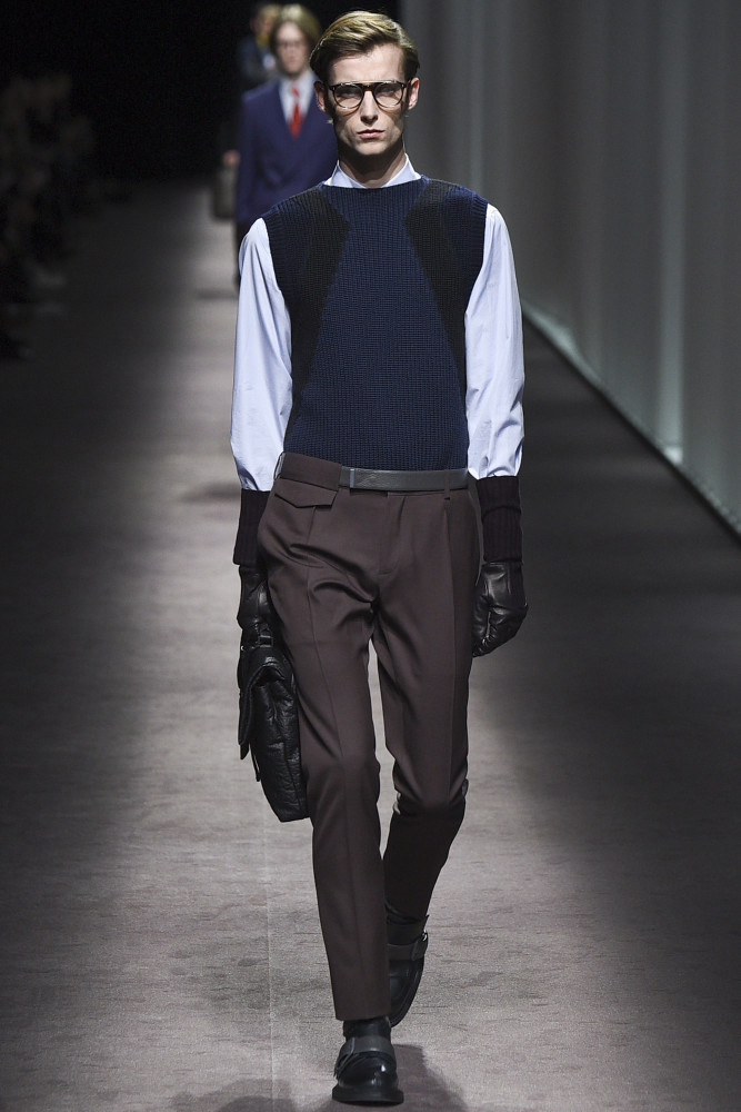 Laurie Harding for Canali FW 16/17