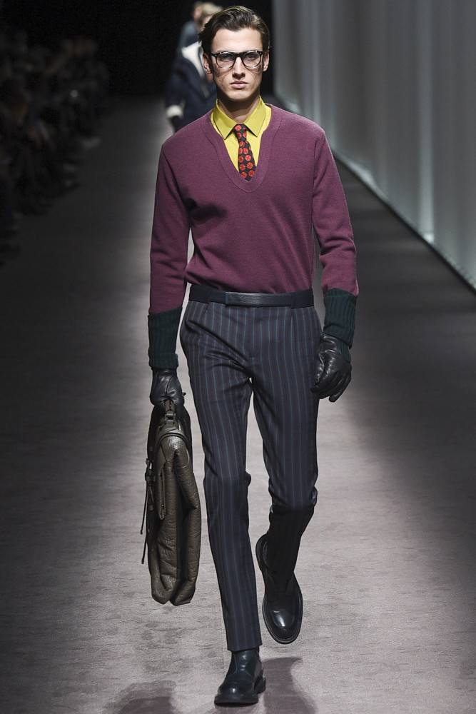 Luca Stascheit for Canali FW 16/17