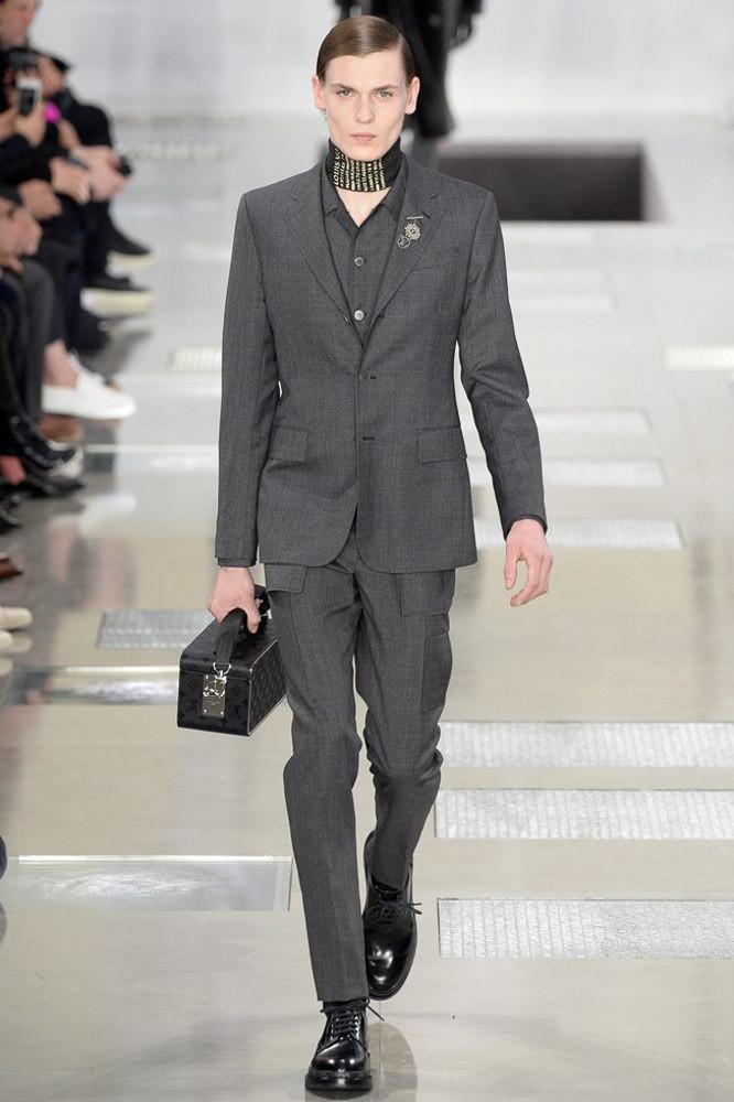 Lukas Gaffié for Louis Vuitton FW 16/17