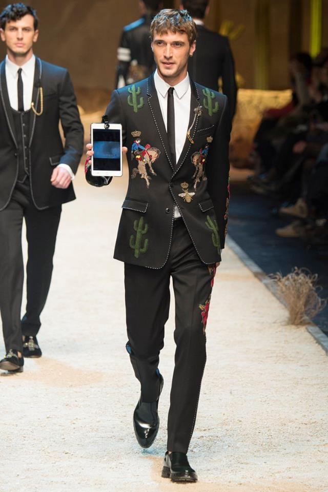 Clement Chabernaud for Dolce & Gabbana FW 16/17
