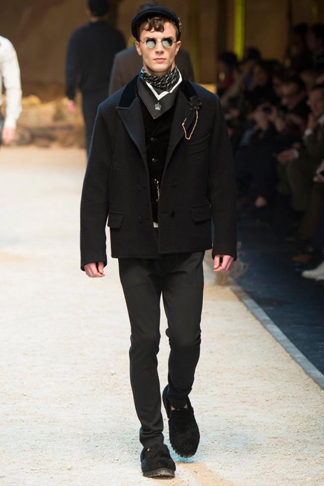 Ruud Van Buren for Dolce & Gabbana FW 16/17