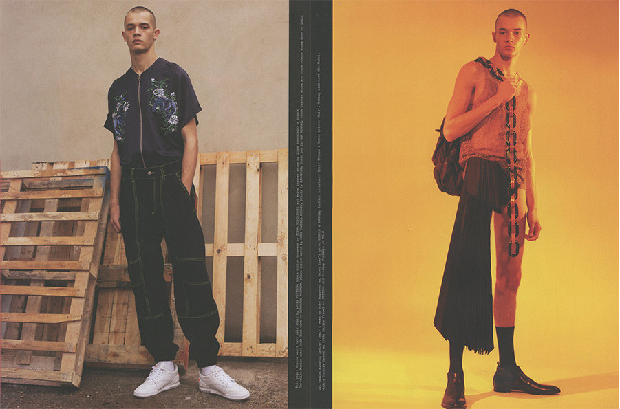 Maxime Frenel and Dominik Sadoch for Rollacoaster magazine