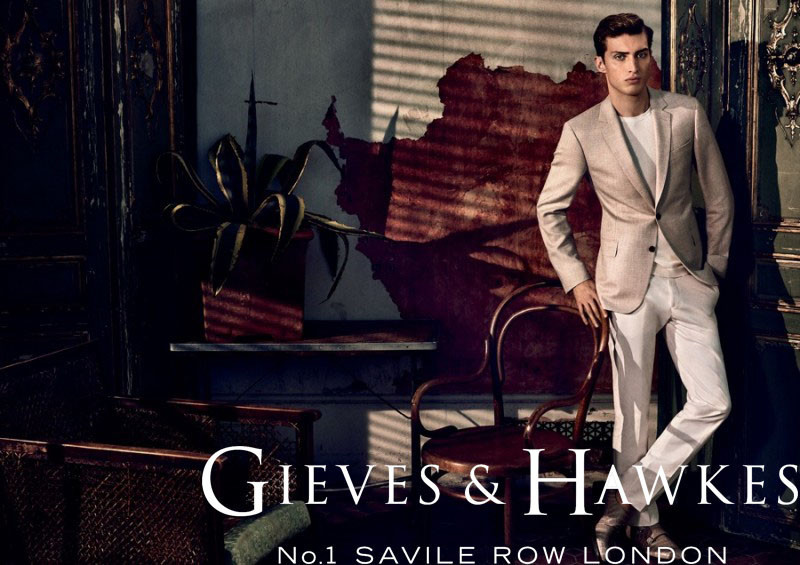 Charlie France for Gieves & Hawkes SS16