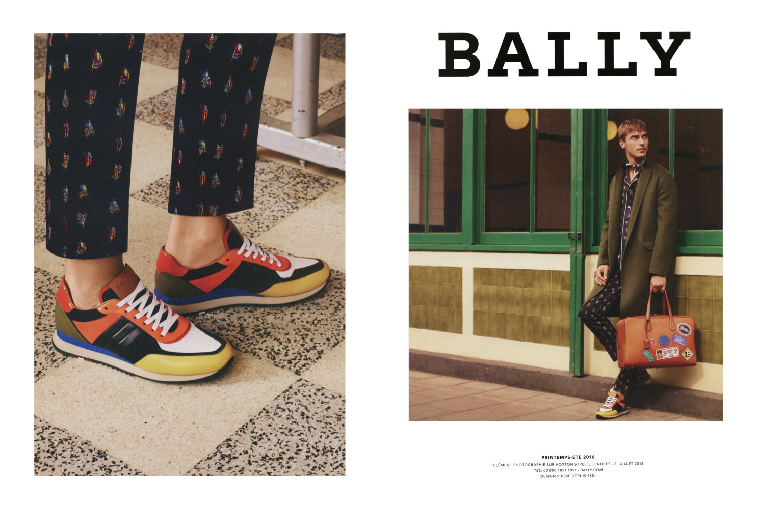 Clement Chabernaud for Bally SS16