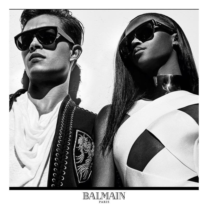 Francisco Lachowski for Balmain Eyewear SS16